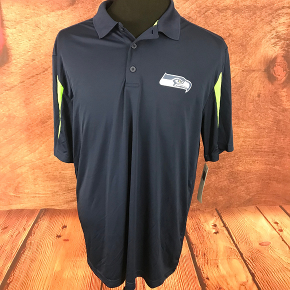 fe738266 NFL Seattle Seahawks TX3 Cool Polo Shirt XL Boutique